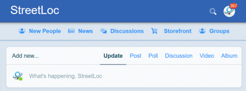 We have made some changes to the way you share information on StreetLoc.