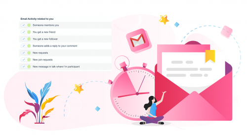 Take Control Over the Notifications You Receive: Push, OnSite and Email