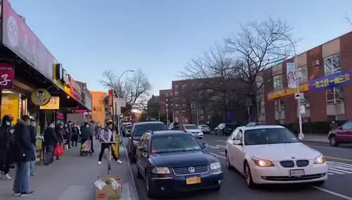 This parking spot fight in Flushing, NY escalated quickly.