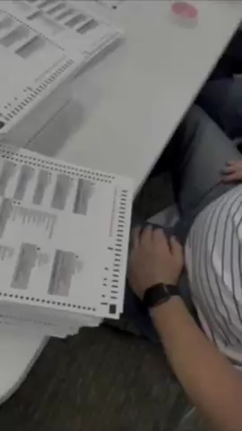 """MI Secretary of State Count """"Multiple Ballots with the very Same Signature"""" Antrim County"""